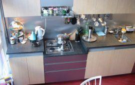 keuken met esdoorn fronten
