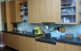 keuken met granito blad