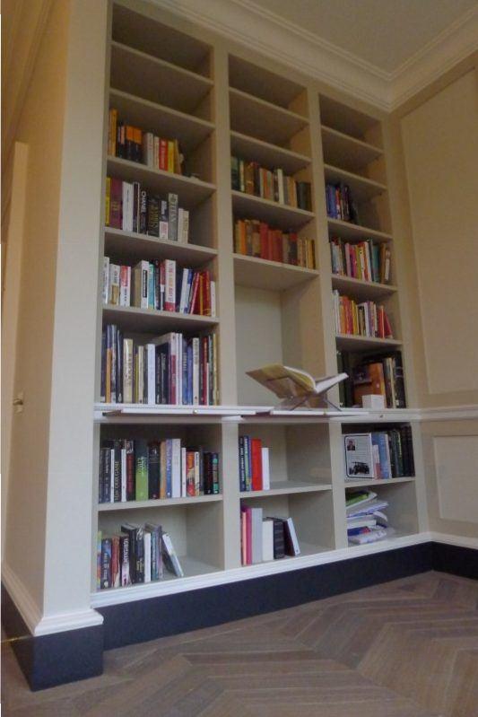 boekenkast en tv kast