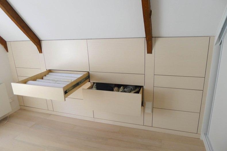 Kast Schuine Wand : Onder schuine wand perfect slaapkamer met schuine wand in groot