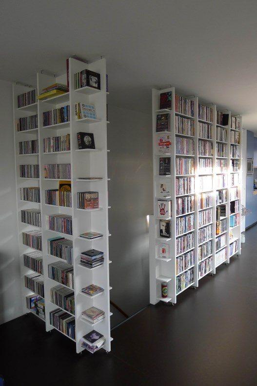 dvd- en cdkast - Meubelmaker in Amsterdam