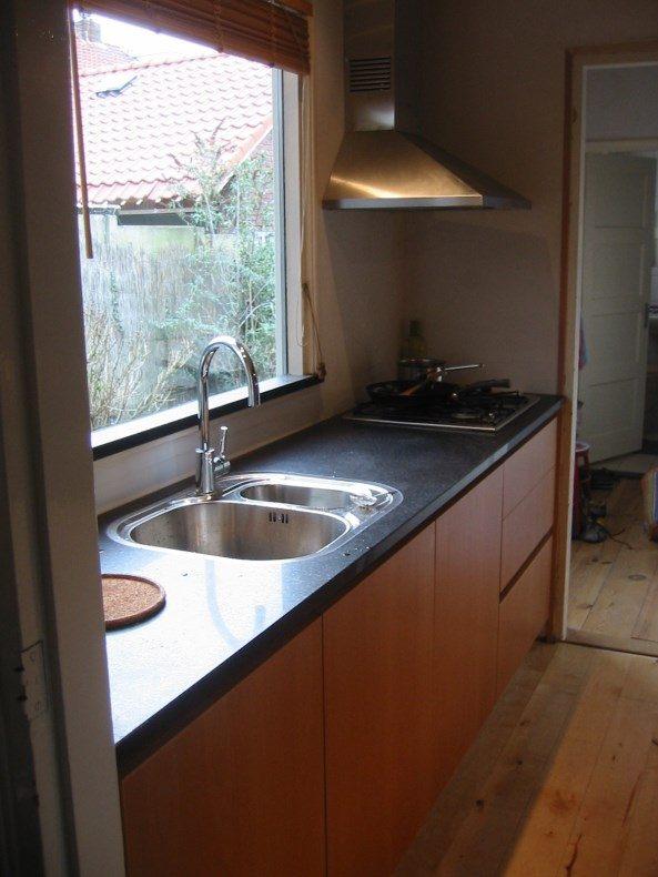 Keuken met granieten blad meubelmaker in amsterdam for Meubelmaker amsterdam