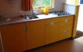 keuken in zomerhuisje