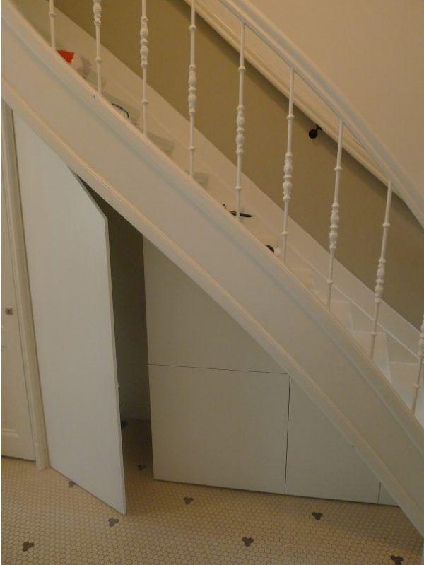 Top kast onder trap #2 - Meubelmaker in Amsterdam &AM53